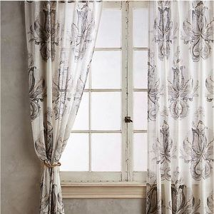 Anthropologie May Curtain Panels -4 total